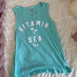 vitamin sea VS pink tank top